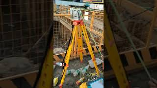 Sinorock SY7 Ultra Sonic Pile Integrity Tester  CSL Testing on site.