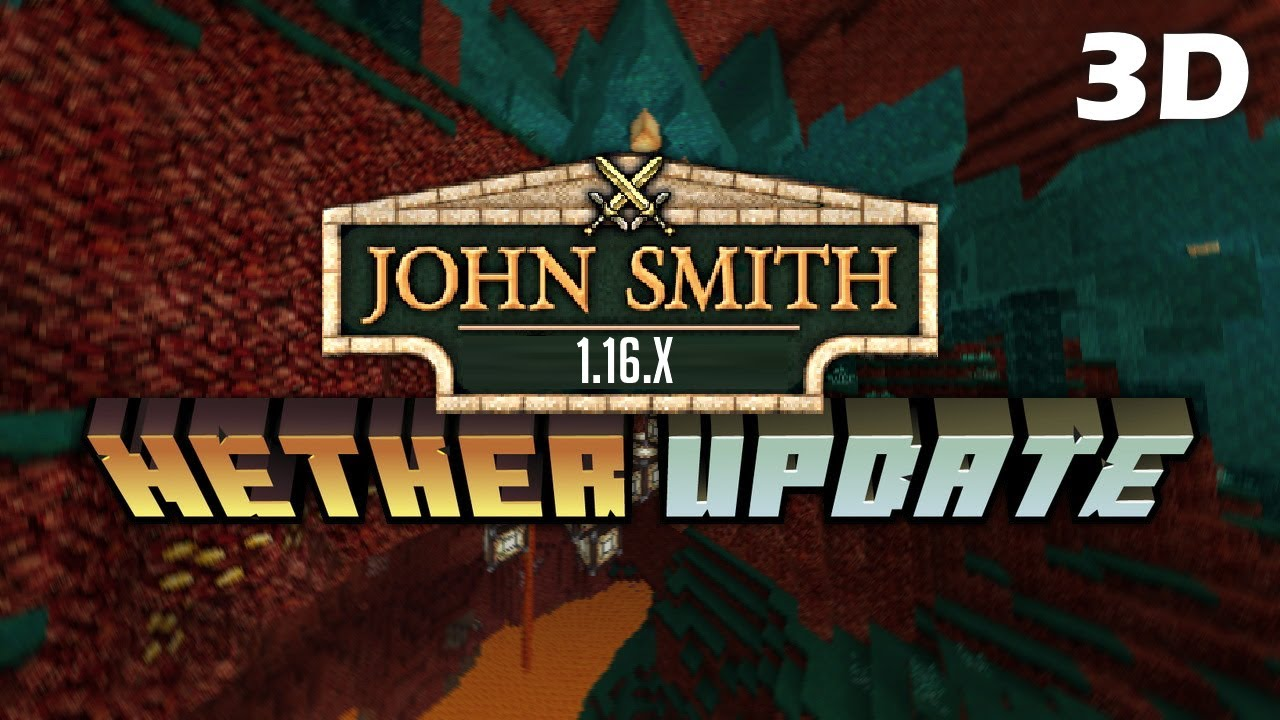 John Smith Legacy 1.16.2/1.16.1/1.16 Texture Pack DOWNLOAD ⚔️📜 [Java & MCPE]