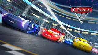 Disney PIXAR CARS 3 Final Trophy Race Lightning Mcqueen VS Cruz Ramirez & Jackson Storm
