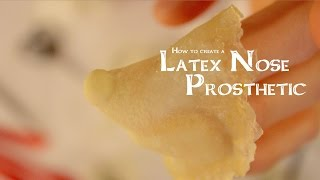 How to create a Latex Nose Prosthetic (sculpt, mold, cast)