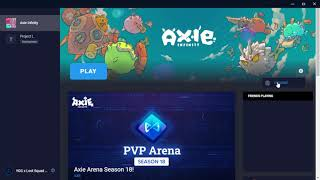 How to Install Preטious Axie Infinity Version (1.0.0ac)