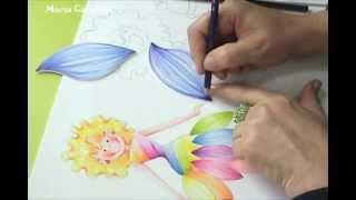 DIY  Maria Carolina Rugero Hada en Creyon sobre foamy o goma eva