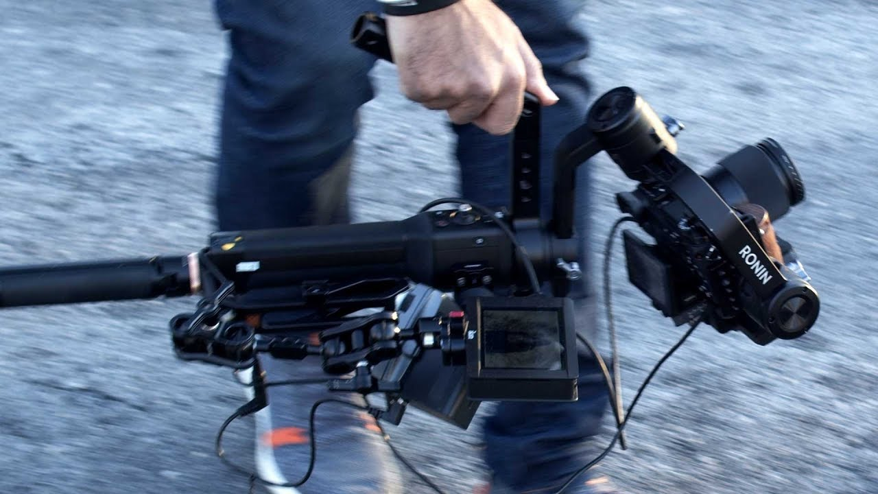 The Terminator is back with a new gimbal support! ????