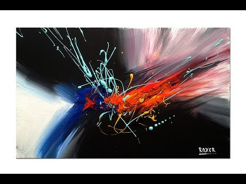 Abstract painting / Demo / Original art / Abstract art /