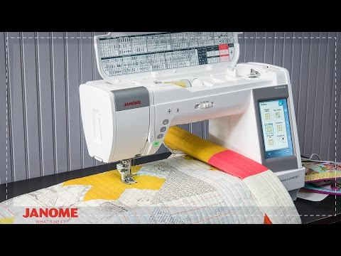 Janome Memory Craft Qcp Stitch In The Ditch Foot