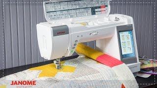 видео Janome Horizon Memory Craft 9400 QCP. Швейные машины. Каталог товаров Janome