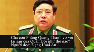 Lý do ra đi Phùng Quang Thanh đã được định sẵn?