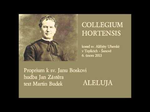 Proprium k sv. Janu Boskovi: Aleluja