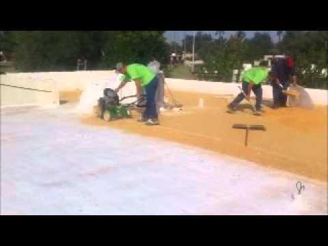 All Roofs Inc Scarify Foam Roofing Phoenix Az Youtube