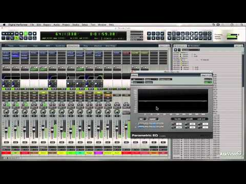 Digital Performer 8 103: Automation and Mixing - 1. Introduction