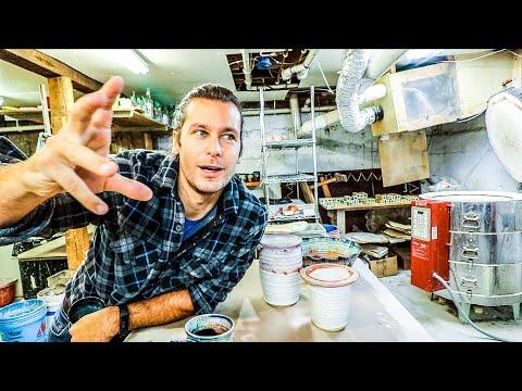 Glass Coaster Secrets, Christmas Season, Patron shoutout - Unloading Kiln #29