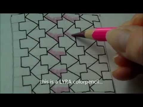 How to draw tanglepattern Schway