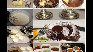 SUFLE NASIL YAPILIR TARIFI - Souffle rezept - evde cikolatali sufle tarifi
