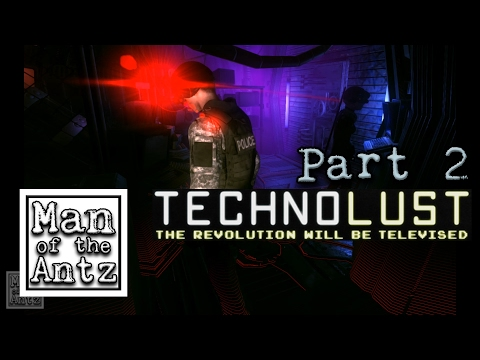 Checking out the new Wreckshop and jacking-in all over | Technolust with Oculus Touch - Part 2
