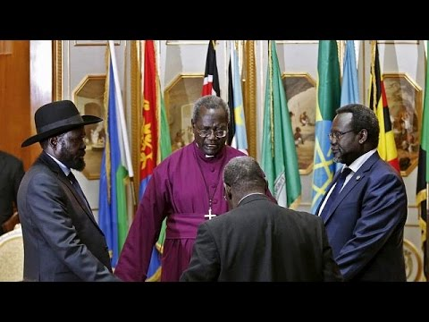 Transitional govt installed in South Sudan