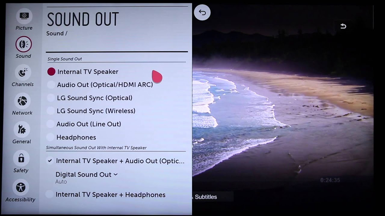 Adjusting your LG Smart TV's Sound Settings | LG USA