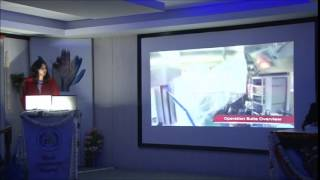 Dr Mandeep Kaur at 4th World Conference of Laparoscopic Surgeons.