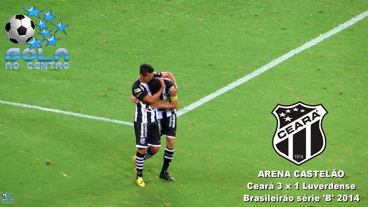 Ceará 3 x 1 Luverdense - brasileirão série B 2014 melhores momentos
