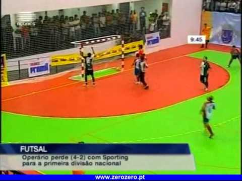 Futsal :: 06J :: Operário - 2 x Sporting - 4 de 2011/2012