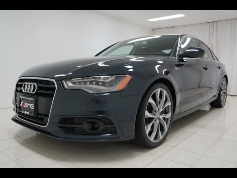 2012 audi a6 3 0t c7 supercharged quattro nightvision review youtube. Black Bedroom Furniture Sets. Home Design Ideas