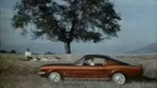 1965 Ford Mustang 2 Plus 2 TV Ad