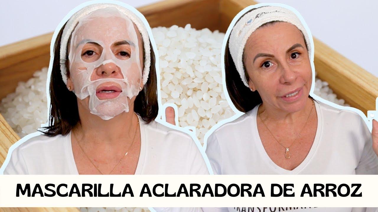ACLARAR LA PIEL con ARROZ | ELIMINA MANCHAS | Adriana Vieira