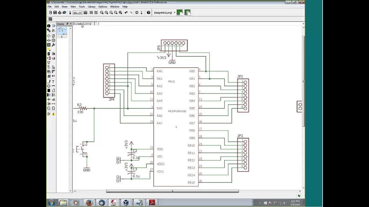 Making a PCB Board from your Schematic - YouTube