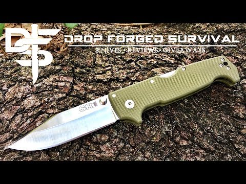 Military Grade Pocket Knife! Cold Steel SR1