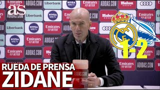 REAL MADRID 1 - ALAVÉS 2 | Rueda de prensa de ZIDANE | Diario AS