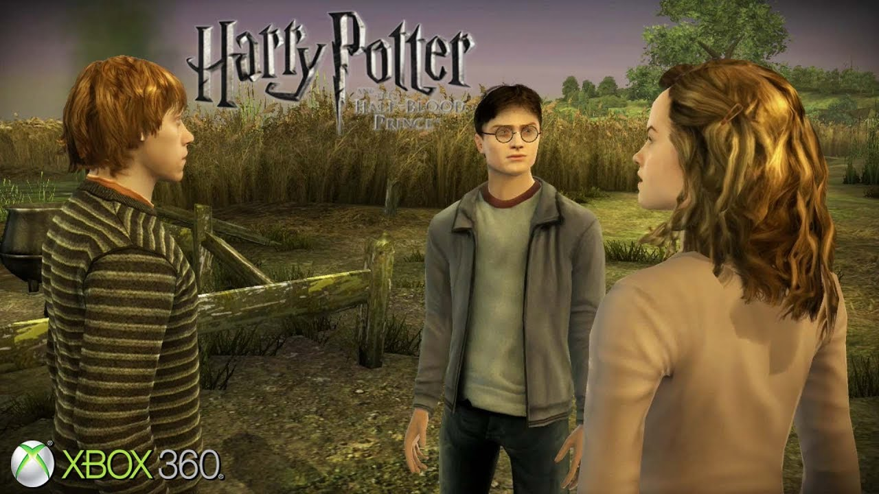 Harry Potter And The Half Blood Prince Xbox 360 Ps3 Gameplay