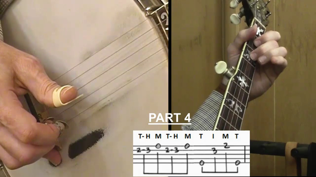 I Saw The Light Instruction Tutorial For 5 String Banjo Youtube