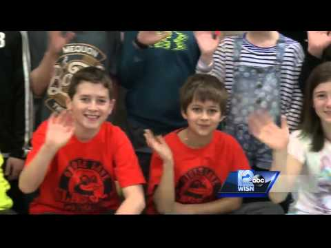 03/25 Shout-Out: Fifth-graders at Oriole Lane Elementary School, Mequon