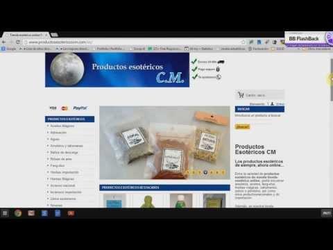 Comprar en la tienda esotérica online Productos Esotéricos CM- Tutorial
