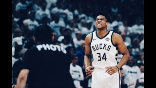 Giannis Antetokounmpo Erupts In 3rd Quarter Of Game 2, Drops 13 In Effortless Fashion