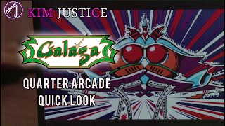 A Quick Look at the Galaga Quarter Arcade | Kim Justice