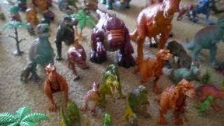 Dinosaurs toy collection