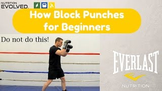 How to Block Punches (step by step for beginners)