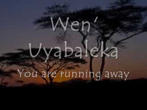 Shosholoza - LYRICS + Translation