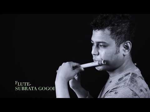 Jeena Jeena on flute  by Subrata Gogoi