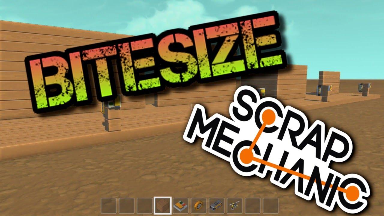 Bitesize scrap mechanic making doors youtube bitesize scrap mechanic making doors publicscrutiny Images