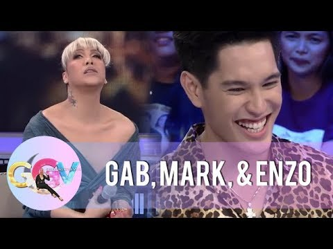 Vice and Gab reveal drooling facts about eating habits | GGV