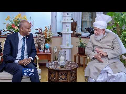 Canada's Minister of Immigration, Ahmed Hussen, visits Hazrat Mirza Masroor Ahmad