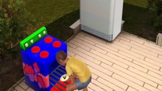 Les Sims 3 - Enfant qui cuisine