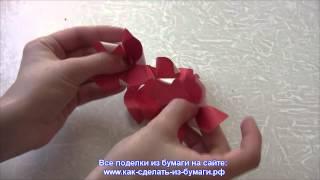 Из чего можно сделать розу? Видео