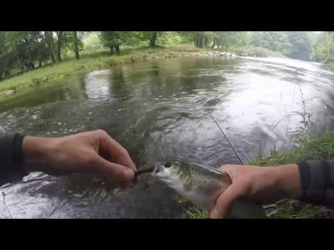 Spinning For Sea Trout In Cumbria 2018
