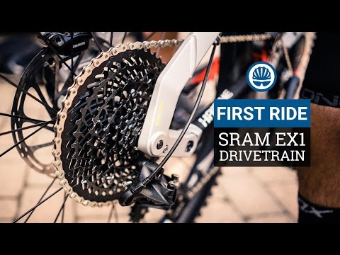 SRAM EX1 e-MTB Groupset - First Ride
