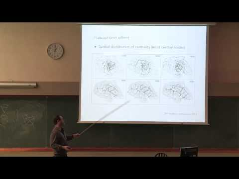 "Marc Barthélémy ""Some practical problems about planar graphs: time evolution and typology"""