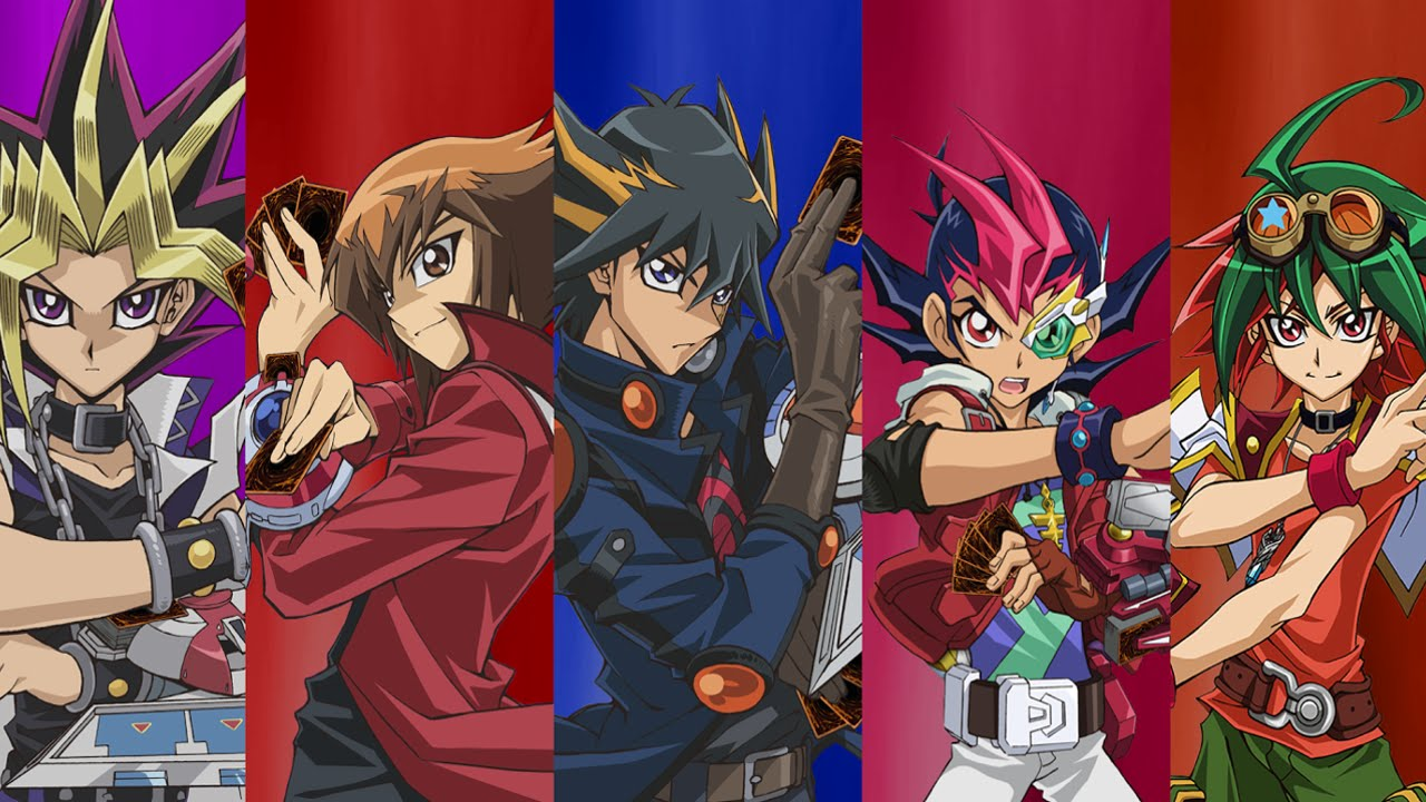 the best yu gi oh series yugioh gx 5d s zexal arc v youtube