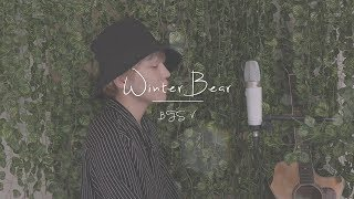 "A boy singing ""Winter Bear by V BTS"" beautifully (COVER BY XIHA)"