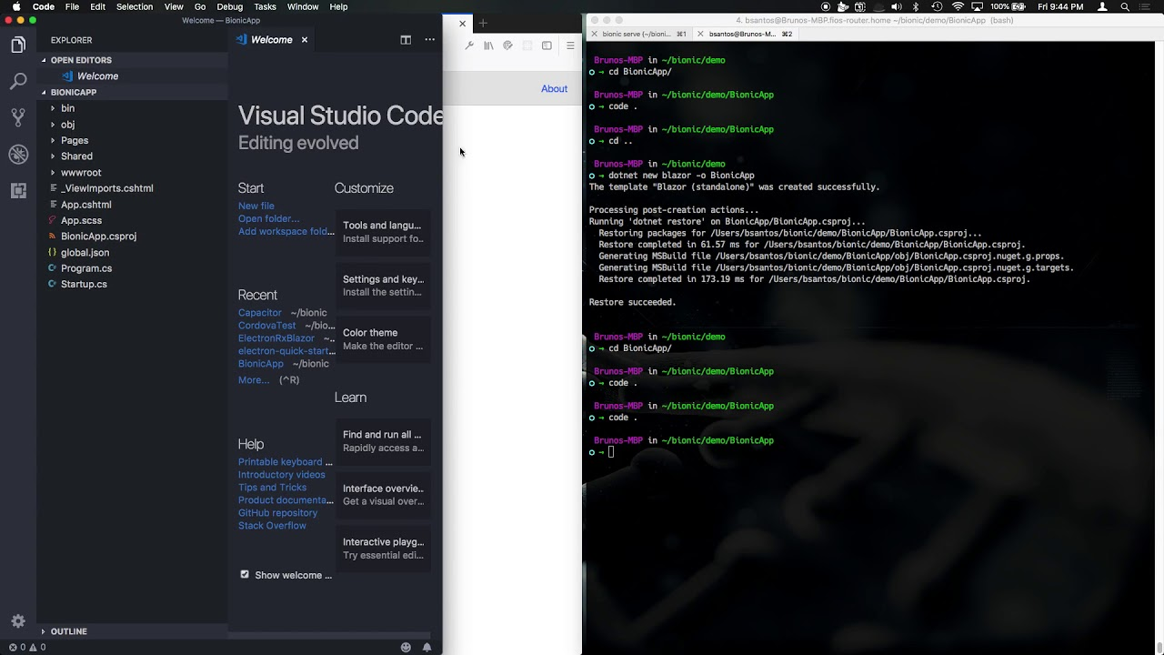 From 0 to Electron with Blazor and Bionic 1 0 16